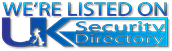 We're listed on the UK Security Directory