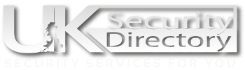 UK Security Directory White Logo