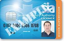 Door Supervisor SIA Licence