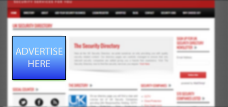 Left Sidebar Advert UK Security Directory