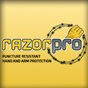 RazorPro Cut and Puncture resistant security gloves